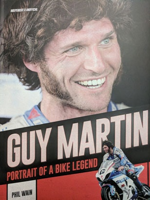 Guy Martin - Portrait Of A Bike Legend' Book sweepstakes