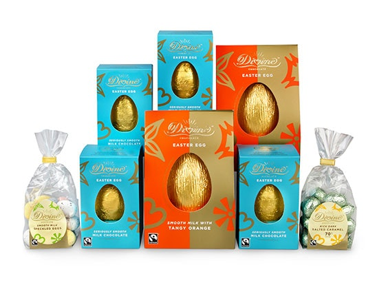 DIVINE CHOCOLATE EASTER EGG HAMPER sweepstakes