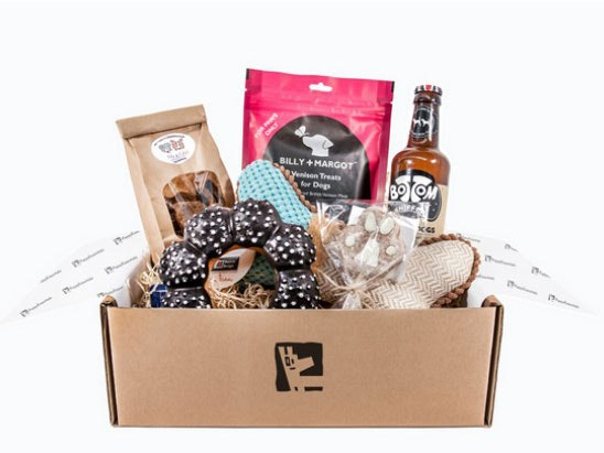 A LUXURY DOG TREAT BOX  sweepstakes