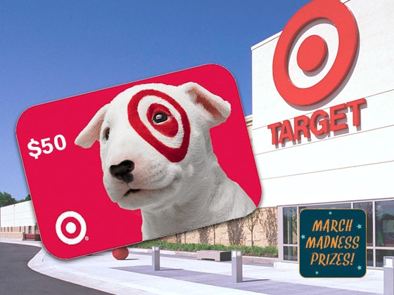 March Madness 2018 #3: $50 Target Gift Card sweepstakes