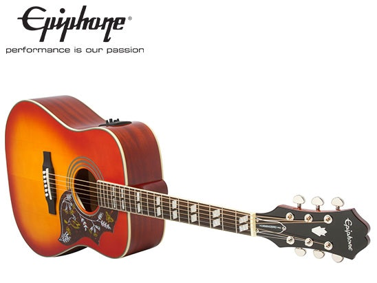 Epiphone Hummingbird PRO Acoustic/Electric guitar sweepstakes