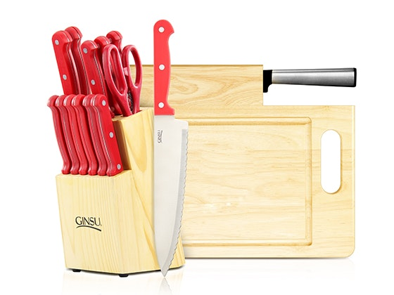 Ginsu Cutlery Set and Cutting Board sweepstakes