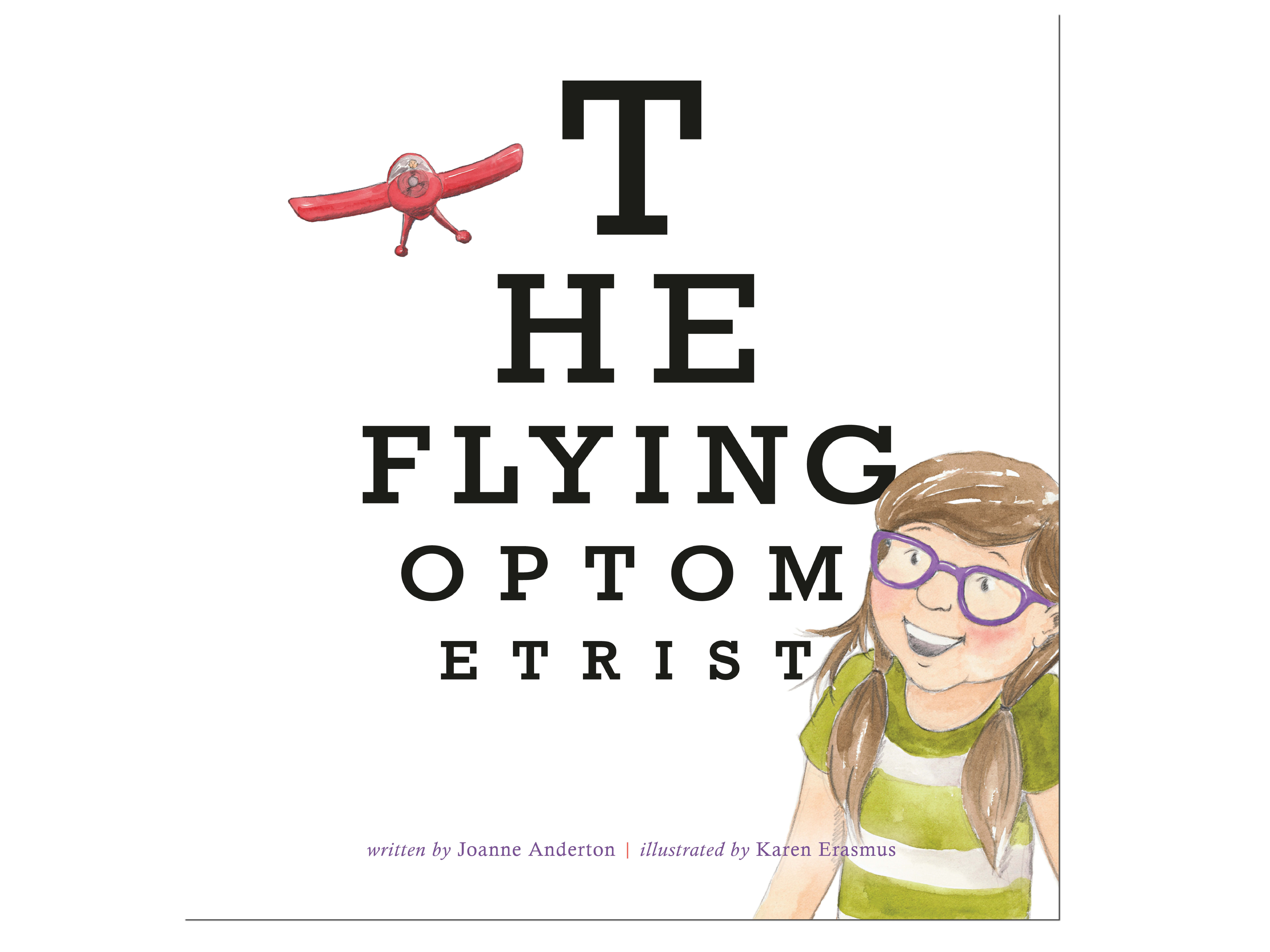 The Flying Optometrist book sweepstakes