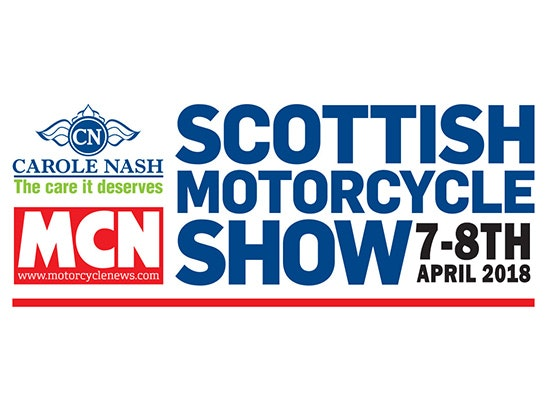 2 pairs of tickets to the Scottish Motorcycle Show sweepstakes