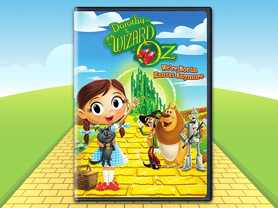 """Dorothy and The Wizard of Oz™: We're not in Kansas Anymore Season One Volume One"" on DVD sweepstakes"