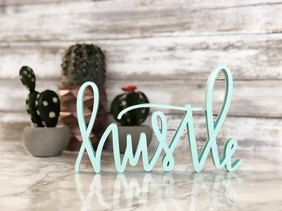 Hustle decoration giveaway
