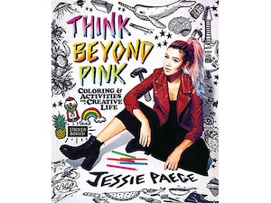 Think beyond pink book giveaway