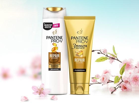 Gewinne Pantene Pro-V Produkte! Gewinnspiel