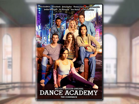 Dance academy dvd giveaway