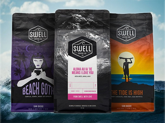 Swell Coffee Co. Coffee Beans sweepstakes