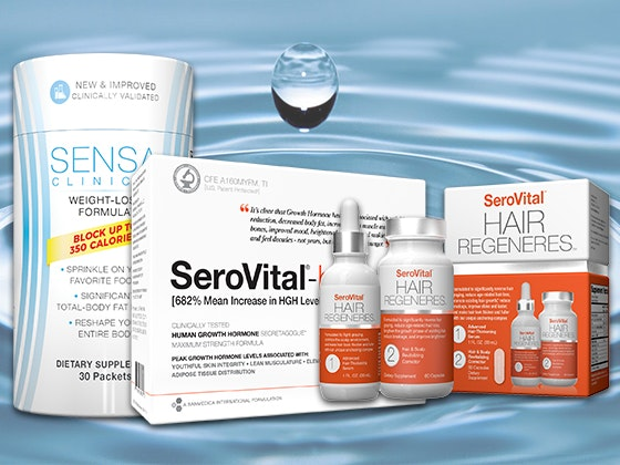 Sensa serovital supplements package giveaway