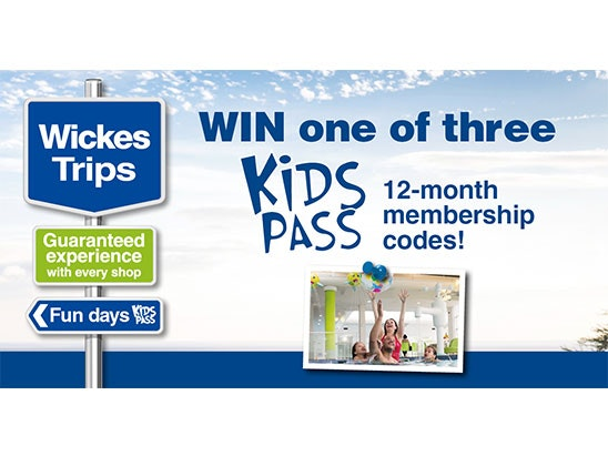 Kids Pass sweepstakes