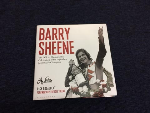 Barry Sheens book sweepstakes