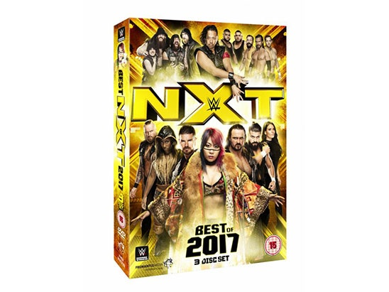WWE: Best of NXT 2017 DVD sweepstakes