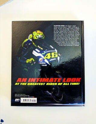 Valentino Rossi, Life of a Legend book sweepstakes