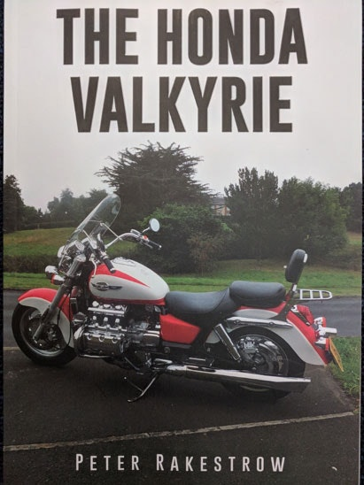 The Honda Valkyrie book sweepstakes