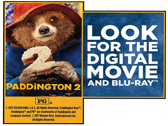 """Paddington 2"" on Digital sweepstakes"