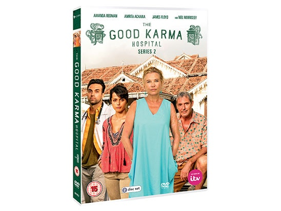 The Good Karma Hospital Series Two on DVD sweepstakes