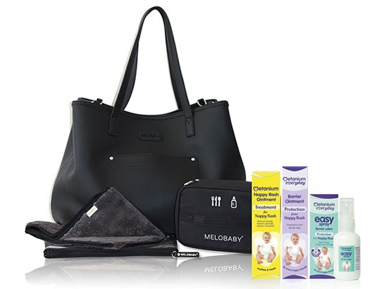 Win a Stylish Melobaby Tote Bag worth £89 sweepstakes