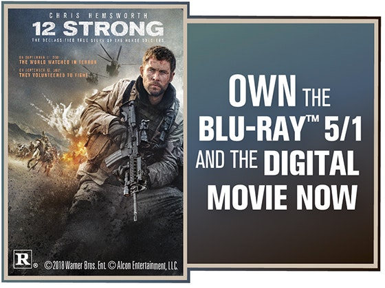 """12 Strong"" on Digital sweepstakes"