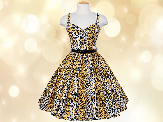 Bernie Dexter Georgia Dress in Bernie's Leopard Print sweepstakes