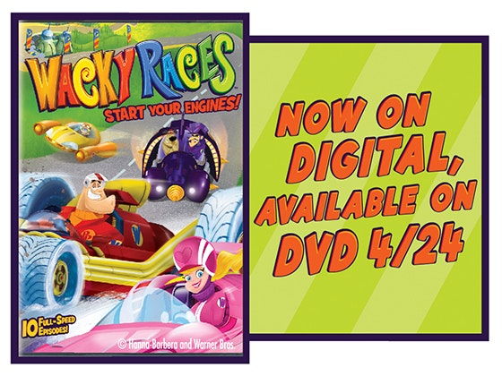 Wacky races start your engines dvd giveaway