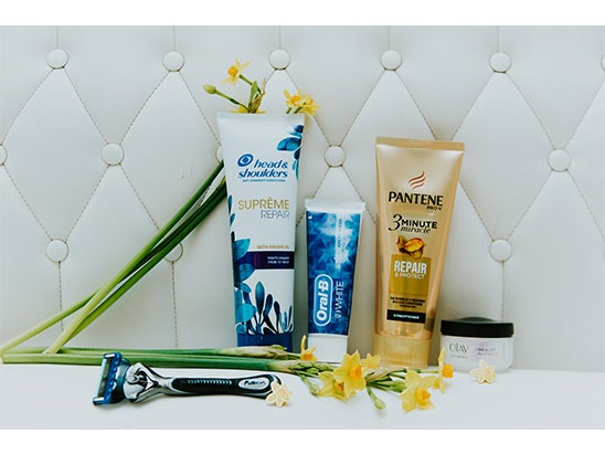 1 bundle of P&G products which may include Oral-B, Gillette, Olay, Pantene, Herbal Essences, Venus. sweepstakes