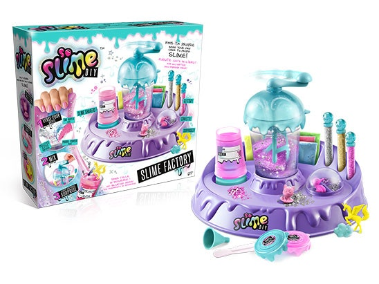 1 x So Slime DIY Factory £20 and 1 x So Slime DIY 3 Shaker Pack £10 each - each prize worth £30 sweepstakes