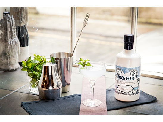 Sets of Rock Rose Gin and its seasonal Spring Edition sweepstakes