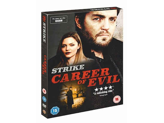 3 X Career of Evil DVD & 3 x Strike Box Set sweepstakes