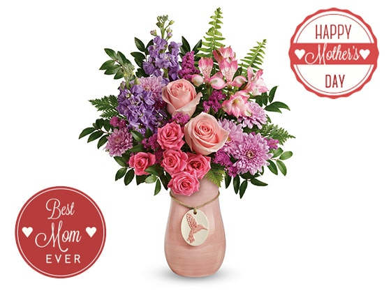 Teleflora Winged Beauty Flower Bouquet  sweepstakes