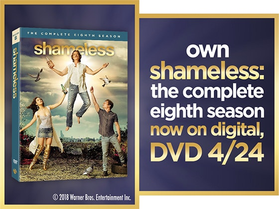 Shameless: The Complete Eighth Season on DVD sweepstakes