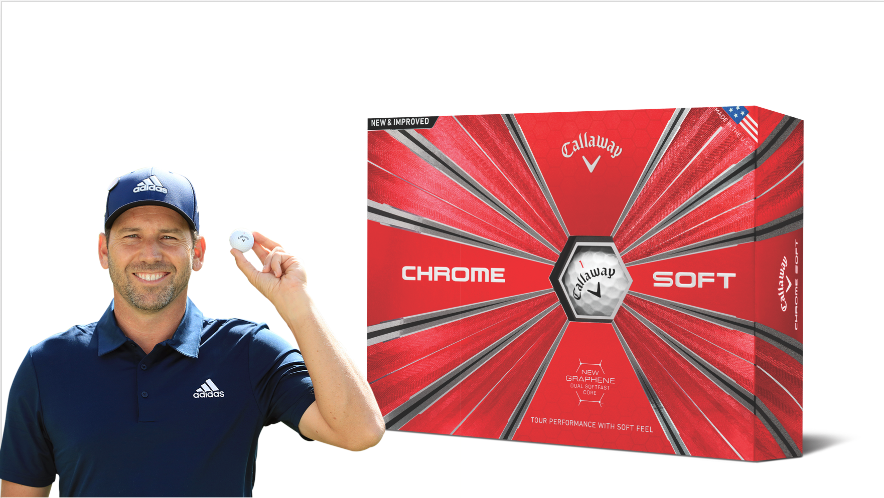 Win a year's supply of Callaway's all-new Chrome Soft balls sweepstakes
