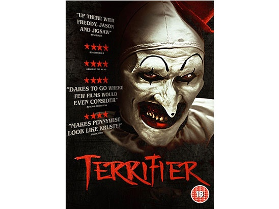 """Terrifier 12"""" vinyl official soundtrack and DVD sweepstakes"""