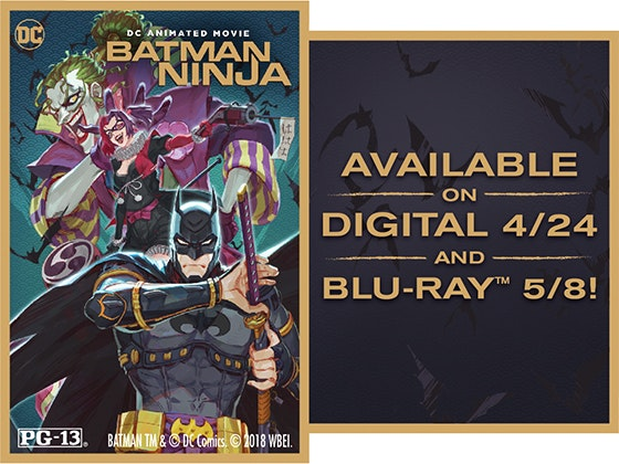 """Batman Ninja"" on Digital sweepstakes"