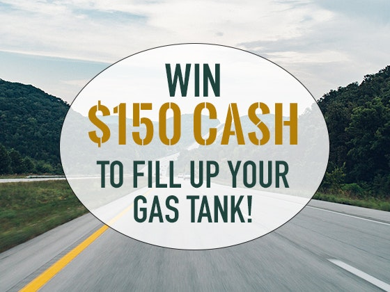 $150 Cash Prize April - May 2018 sweepstakes