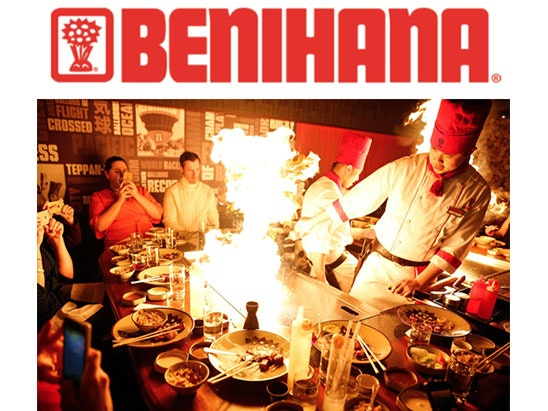 A Benihana Experience for two sweepstakes