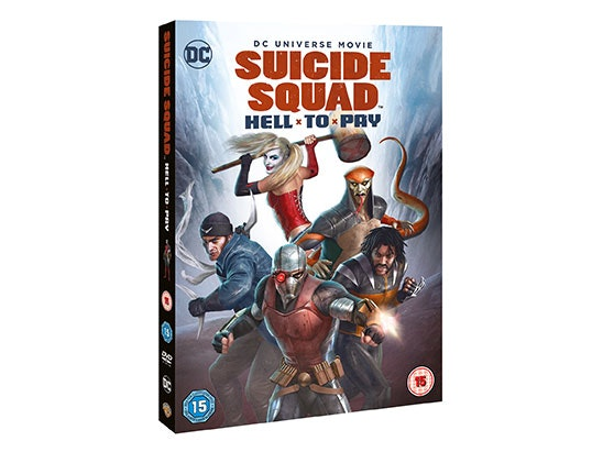 5 x Suicide Squad: Hell to Pay on DVD  sweepstakes