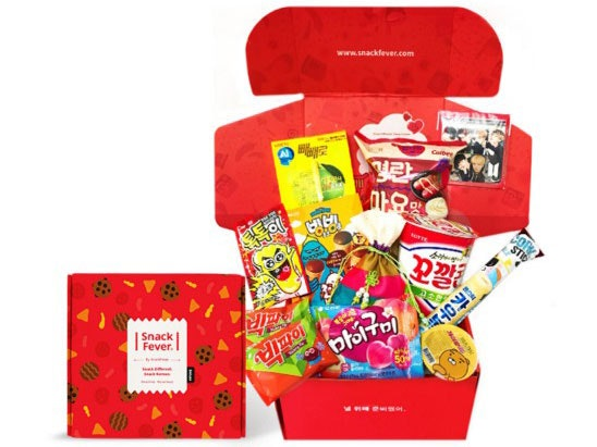 1 x KOREAN SNACK BOX AND A COPY OF GOOK ON DVD sweepstakes