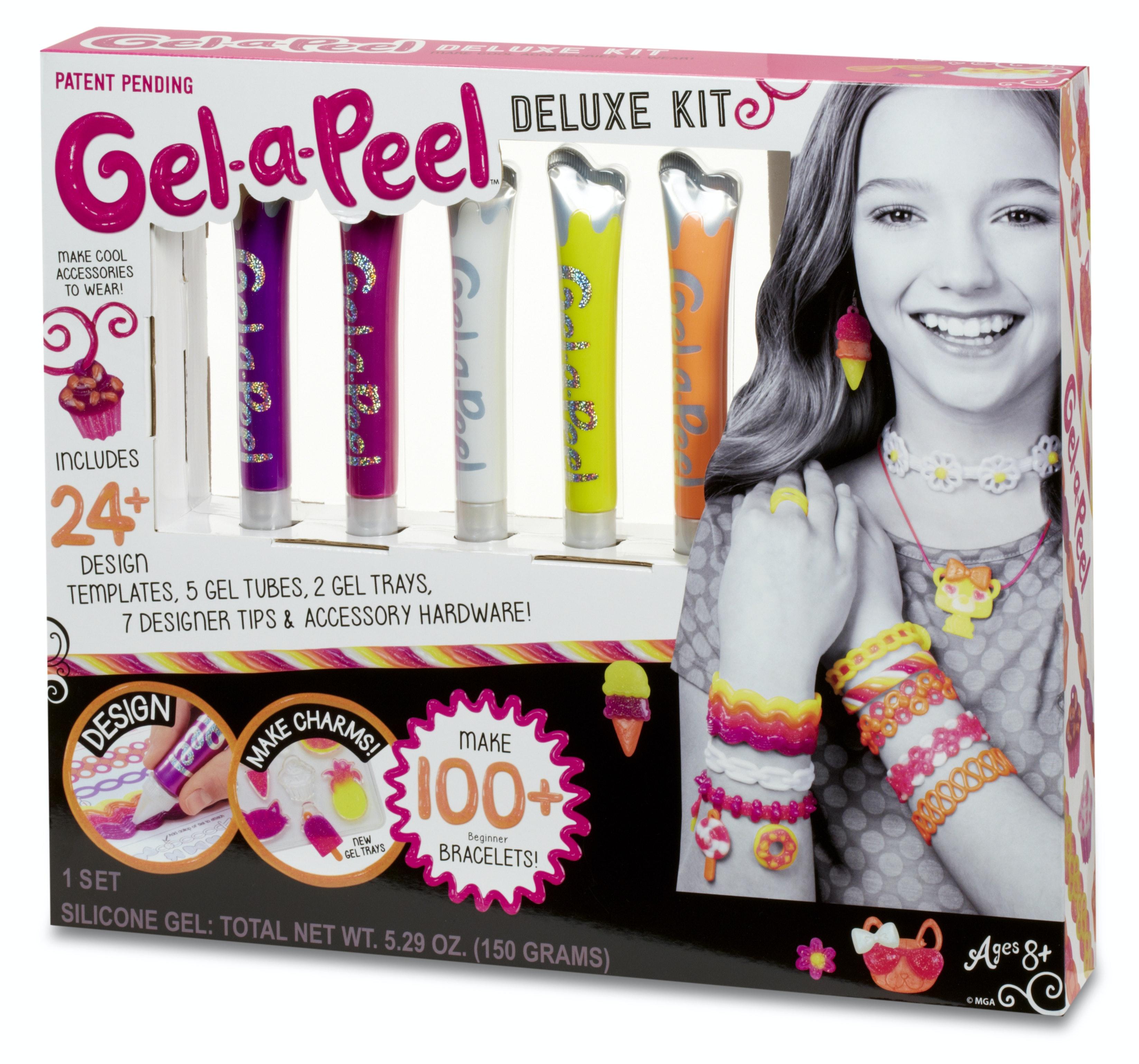 1 x Gel-a-Peel Deluxe Kit 1 x Gel-a-Peel Accessory Kit 1 x Nail-a-Peel Deluxe Kit 1 x Nail-a-Peel Theme Kit sweepstakes