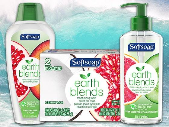 Earth blends softsoap collection giveaway 2