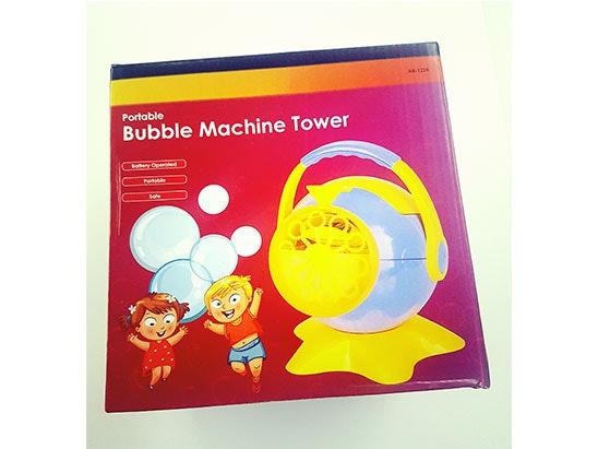 bubble machine sweepstakes