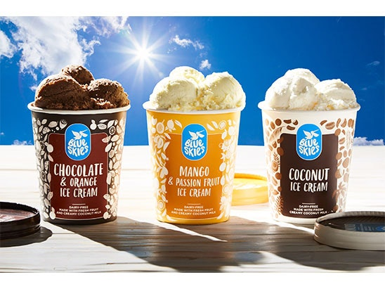 £75 Waitrose voucher to buy a summer's worth of Blue Skies ice cream sweepstakes