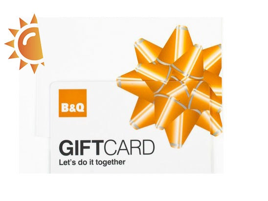 B&Q sweepstakes
