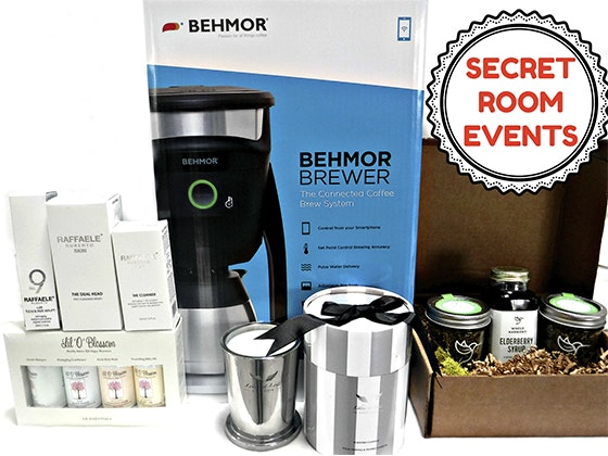 Secret Room Events Celebrity Nominee Gift Bag sweepstakes