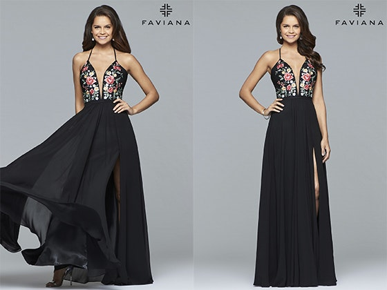 Faviana Style 10000 Prom Dress sweepstakes