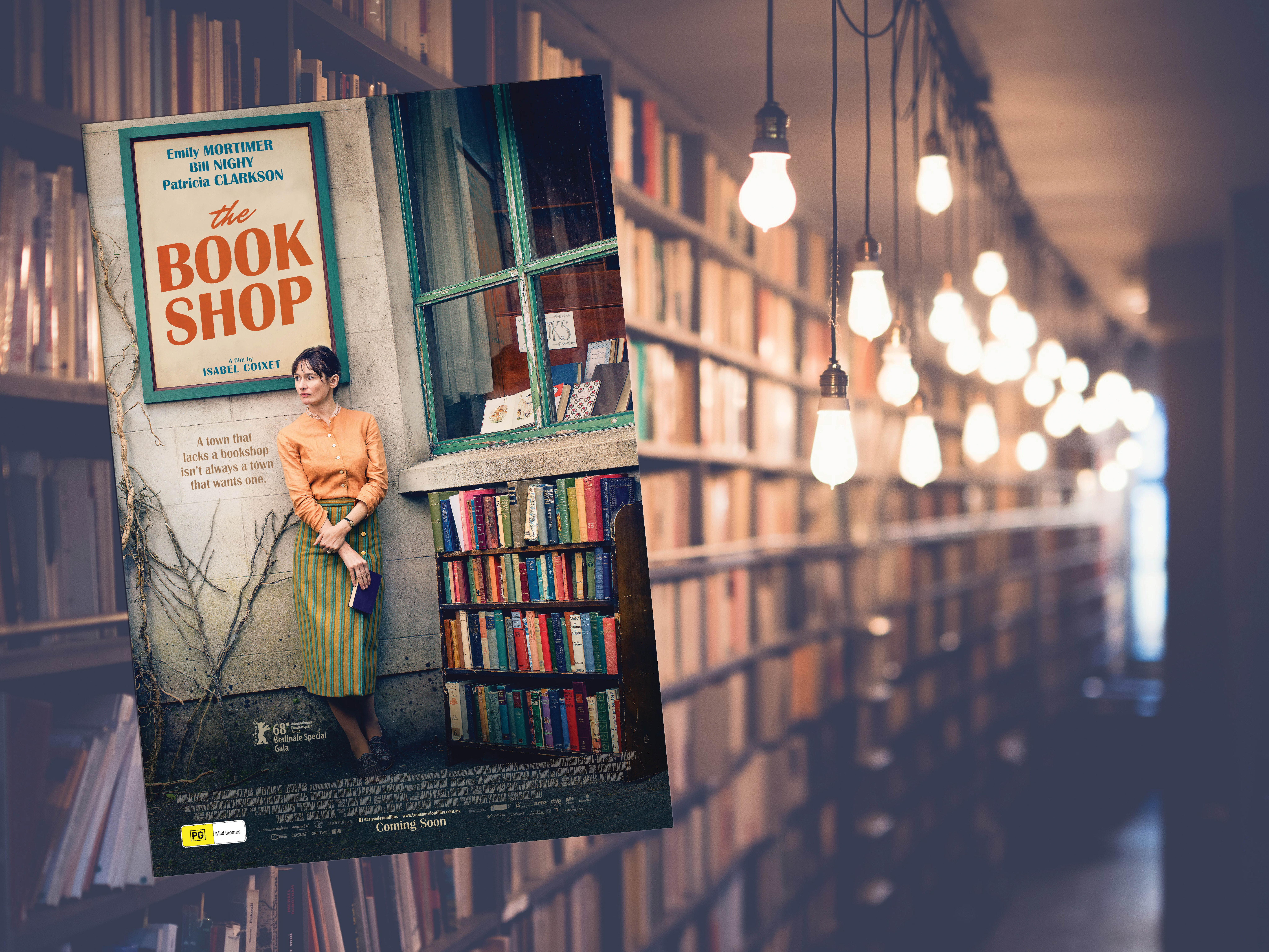 double pass The Bookshop sweepstakes