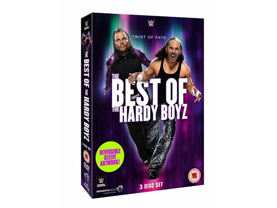 5 x WWE: The Best of The Hardy Boyz DVDs sweepstakes
