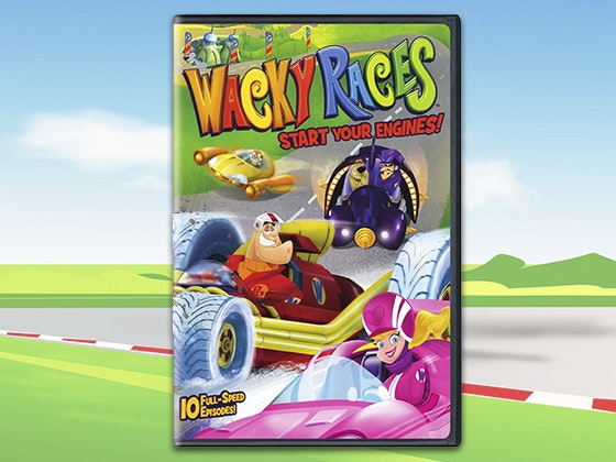 Wacky races start your engines s1v1 gdvd giveaway