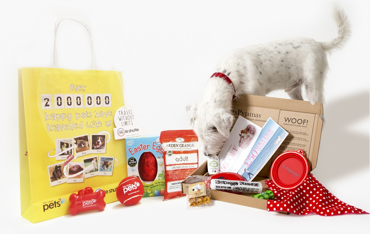 1 X Goody bag and 1 x Travel box  sweepstakes
